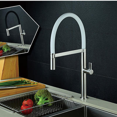 stainless steel faucets for kitchen