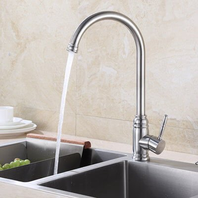industrial kitchen faucets stainless steel