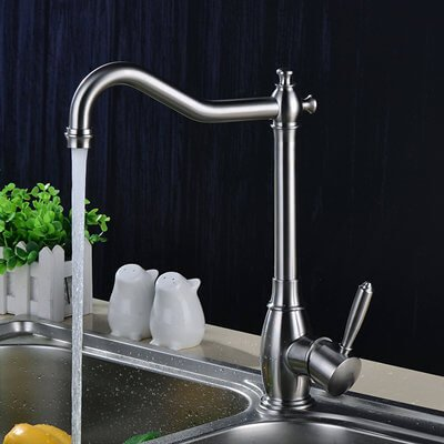 stainless kitchen sink faucet